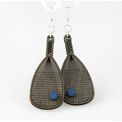 Racquetball Racquets Earrings