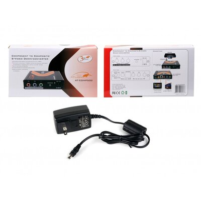 Atlona Professional Component Video to S-Video and Composite Video Down Converter