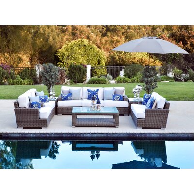 Patio Heaven Palisades Deep Seating Group with Cushions