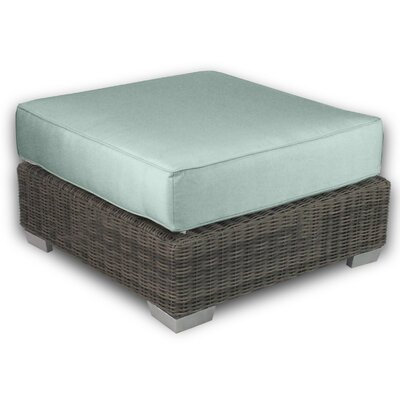 Patio Heaven Palisades Ottoman with Cushion