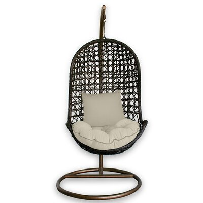 Patio Heaven Skye Bird's Nest Porch Swing with Stand