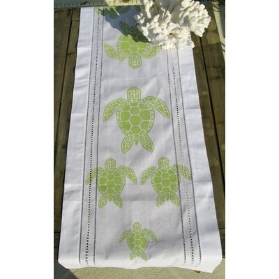 Lowcountry Linens Sea Turtle Table Runner