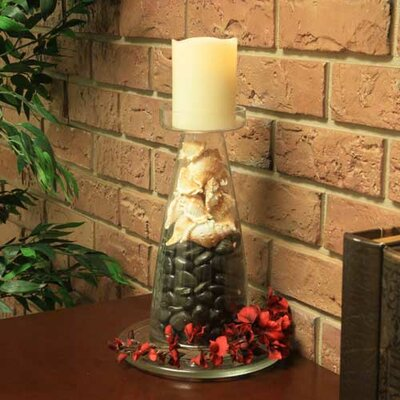 Pacific Accents Norfolk Tapered Pillar Candle Holder