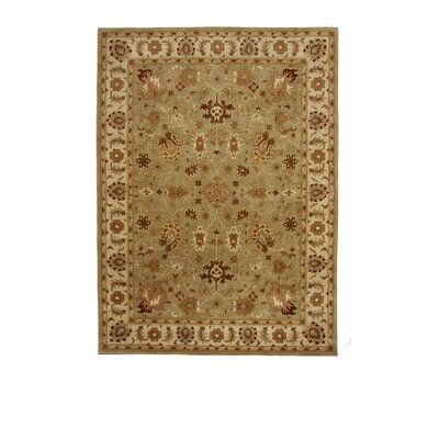 Liberty Oriental Rugs Tempest Light Green/Ivory Rug