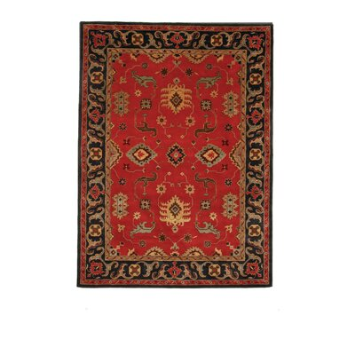 Liberty Oriental Rugs Tempest Red/Black Rug
