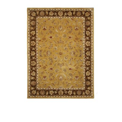 Liberty Oriental Rugs Tempest Light Gold/Brown Rug