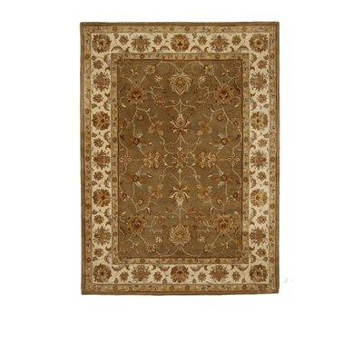 Liberty Oriental Rugs Tempest Medium Green/Ivory Rug