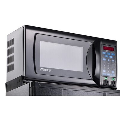3.6 Cu. Ft Refrigerator with .7 Cu. Ft. 700 Watt Microwave Oven