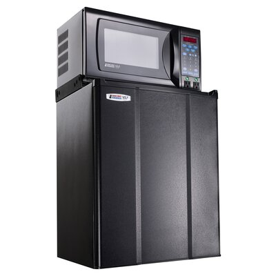 2.4 Cu. Ft Combination Compact Refrigerator and Microwave