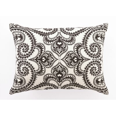 D.L. Rhein Amalfi Down Filled Embroidered Linen Pillow