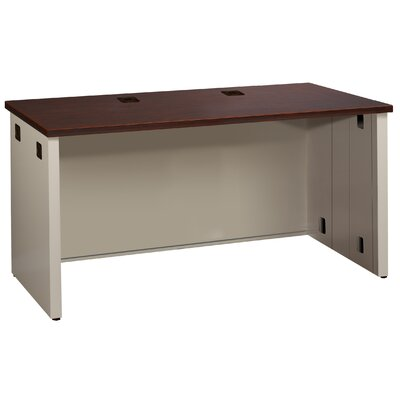 Great Openings Trace Executive Desk with Grommet Holes and Wire Management