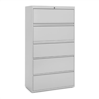 "Great Openings 15"" Receding Door Lateral File with Five Fixed Shelves"