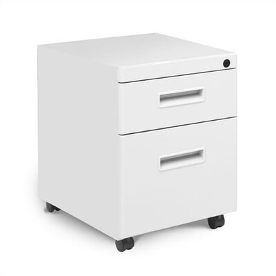 Great Openings Mobile Pedestal with One Box and One File Drawer