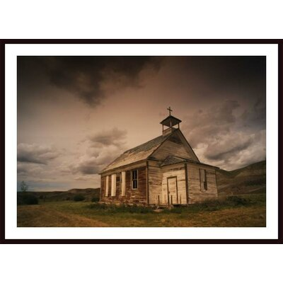 'A Simple Wooden Church' by Kelly Redinger Framed Photographic Print