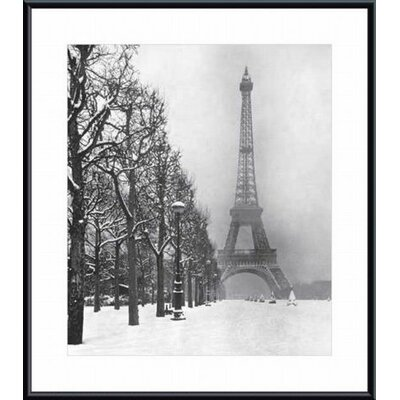 Barewalls Eiffel Tower, 1948 Metal Framed Art Print