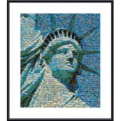Barewalls The American Spirit 2002 Metal Framed Art Print