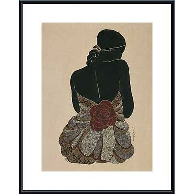 Red Rose III by Rosalind McGary Framed Painting Print
