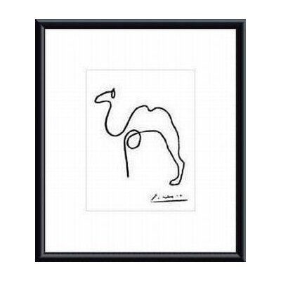 Barewalls The Camel by Pablo Picasso Metal Framed Art Print