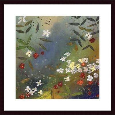 Barewalls Gardens In The Mist II Wood Framed Art Print