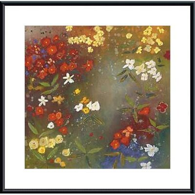 Barewalls Gardens In The Mist IV Metal Framed Art Print