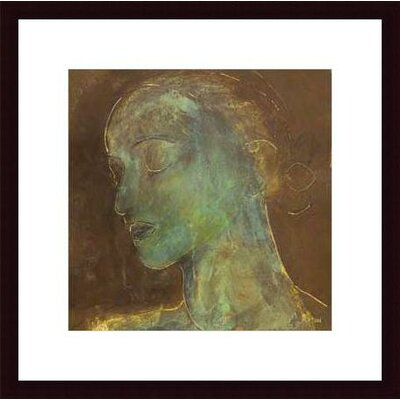 Barewalls Countenance II  by Axton Wood Framed Art Print