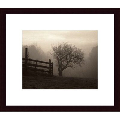 Barewalls Mountain Meadow Farm Wood Framed Art Print