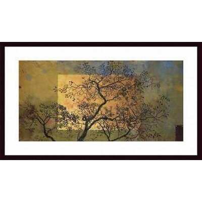 Barewalls Perimeter of The Blue Wood Framed Art Print