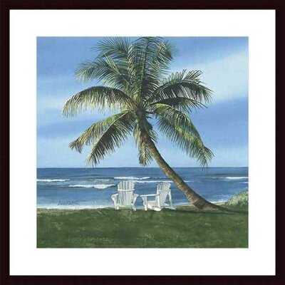 Barewalls Get Away Wood Framed Art Print