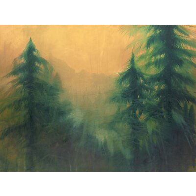 Dawn on The Ridge Gallery Wrapped Canvas Art