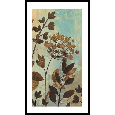Barewalls Enchanted Garden II Wood Framed Art Print