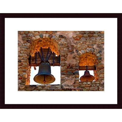 Bell Tower Wood Framed Art Print