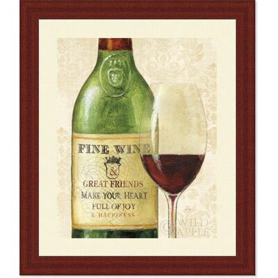 Wine Quotes I Framed Art