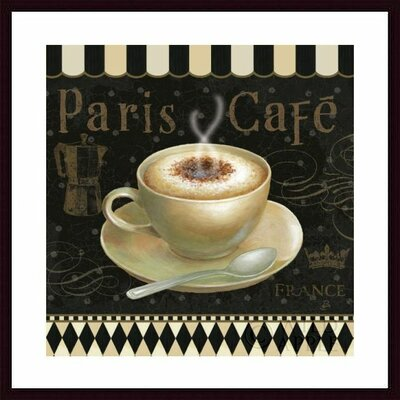 Cafe Parisien III Framed Art