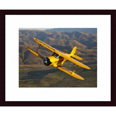 Barewalls A Beechcraft D-17 Staggerwing in Flight