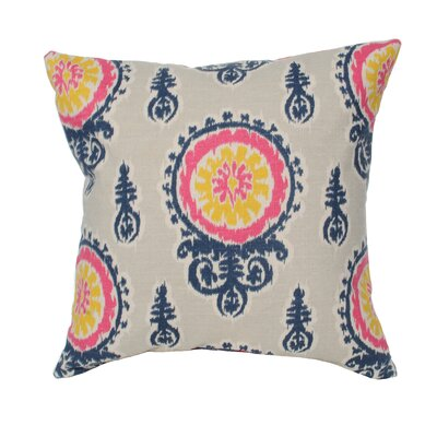 Elisabeth Michael Medallion Birch Cotton Pillow