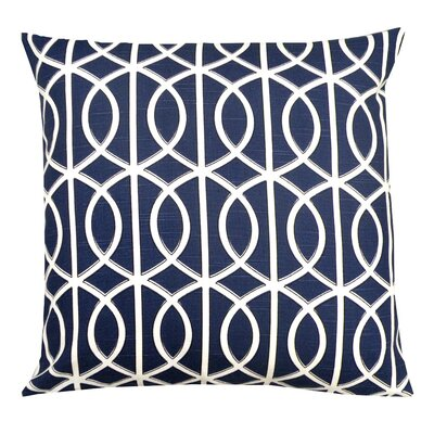 Elisabeth Michael Trellis Cotton Pillow