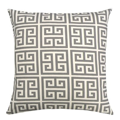 Elisabeth Michael Greek Key Cotton Pillow