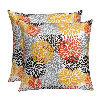 Elisabeth Michael Floral Spice Feather Down Pillow