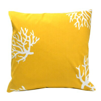 Elisabeth Michael Coral Reef  Indoor / Outdoor Polyeste Pillow