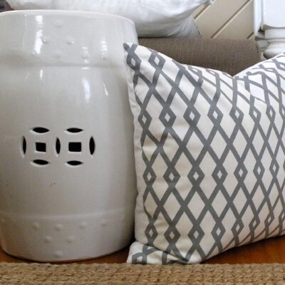 Elisabeth Michael Graphic Cotton Pillow