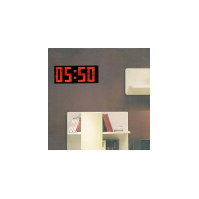 Big time clocks wayfair Cool digital wall clock