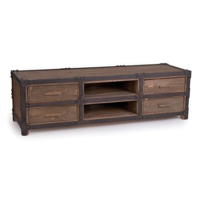 New Rustics Home Rustic Industrial TV Stand