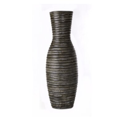 Brown Coil Vase-Small