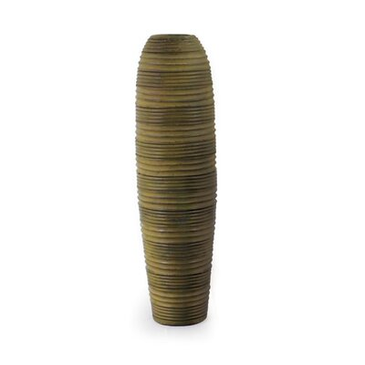 New Rustics Home Sedona Pottery Cylinder Striped Vase