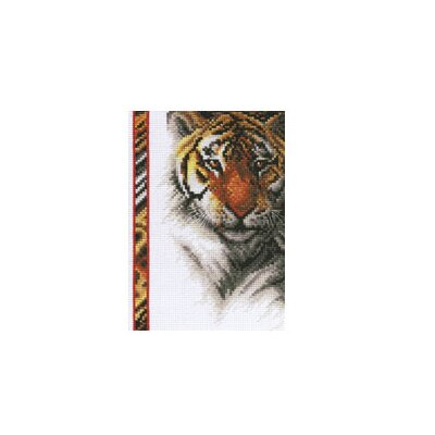 Janlynn Tiger Counted Cross Stitch
