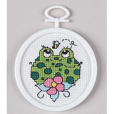Janlynn Froggie Counted Cross Stitch