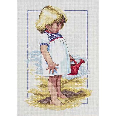 Janlynn Summer Afternoon Counted Cross Stitch