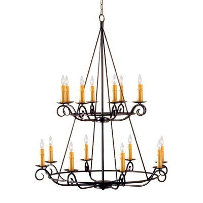 2nd Ave Design Estrella 16 Light Chandelier