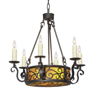 2nd Ave Design Delano 8 Light Chandelier