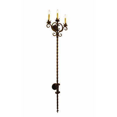 2nd Ave Design Palmira 3 Light Wall Sconce